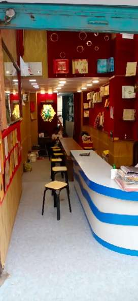 A double storey shop