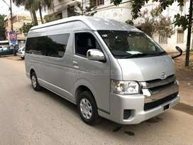 Van toyota hiace Grand cabin available for picnic n party