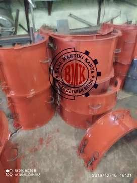 Cetakan buis beton ready u80 50