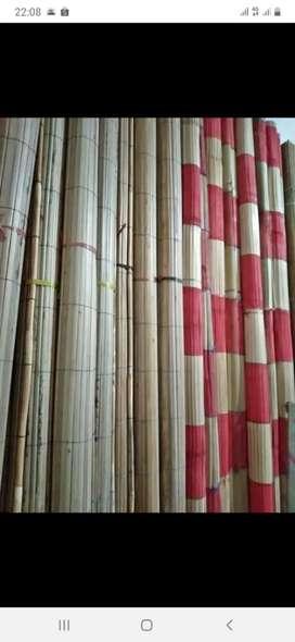 Tirai Penghalang Tirai bambu tirai rotan dan kayu