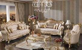 Jual Set Sofa Tamu Ukiran Klasic Terbaru