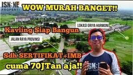 Jual Kavling Pinggir Jalan Raya View Indah Sertifikat Dan IMB