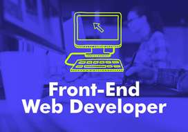 Front End Web Developers Required