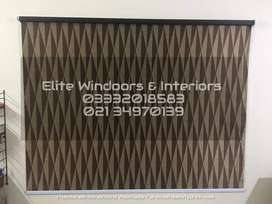 Any type of window Blind at your door step