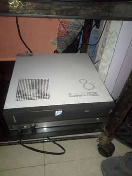 Acer desktop with cpu , mouse, keyboard, Harddisk 500gb ram 4gb