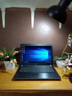 JOOOSSS HP 14-bw017au AMD A9-9420 4GB Ram 500GB HDD Radeon R5 MULUS