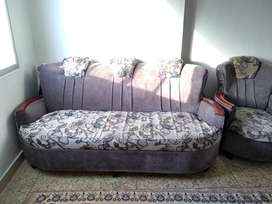 sofa five seater used old
