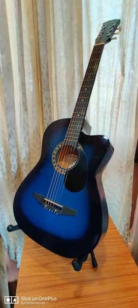 Jixing Blue acoustic guitar