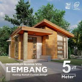 Perumahan Islami, view pegunungan, Lembang, Bandung