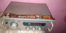 Amplifier sound and box