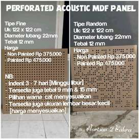 Perforated Acoustic Panel MDF