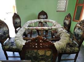 New Dining set with 6 chair in Rawatsar