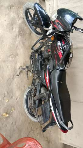 Good condition on bike..