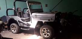 Military disposal jeep