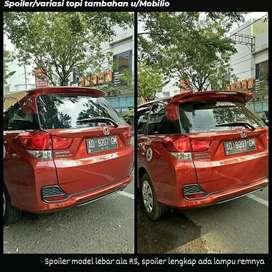 Yg Simple Bikin Mobilmu Jd Tmbah Nggantengg- Spoiler Mobilio RS