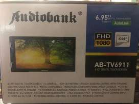 "Double Din Audio Bank - Mirror Link, 6.95"" AB TV 6911"