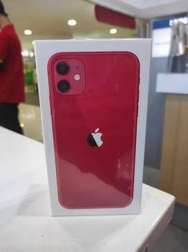 iPhone 11 64gb red garansi iBox