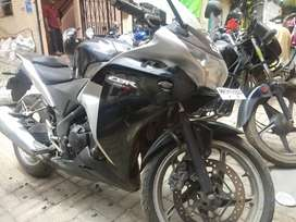 CBR 250 showroom maintained, for exchange, single handedly used
