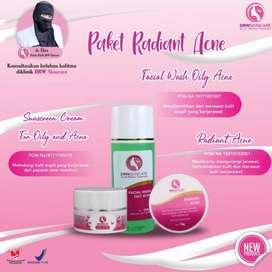 Paket Perawatan Wajah Cream Krim Acne Jerawaat DRW Skincare