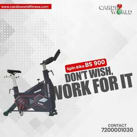 NEW MODEL SPIN BIKE  WITH WARRANTY FOR SALE