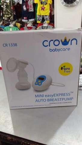 Electric breast pump merk crown