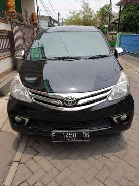 Toyota avanza 1,3 G Automatic Th. 2013 bln 4 Plat F Bogor warna hitam
