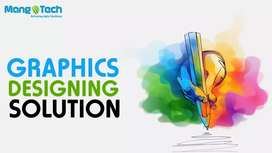 Graphic designing logo design 3d mock up company profile