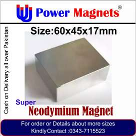 Every size of super Neodymium magnet available in pakistan