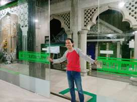 Kaca Tempered Masjid