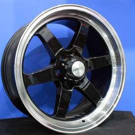 velg type GLOCK L1155 HSR Ring.20 Lebar.9,5 PCD.6X139,7 ET.20  BLACK M