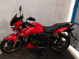 2018/Mar TVS Apache RTR 180 single owner vechile at good condition