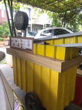 Jual Booth Thai Tea Lengkap Siap Jualan