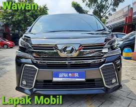 Toyota All New Vellfire 2.5 ZG Audioless 2015 Km57rb Tangan 1