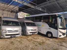 City tour balikpapan dengan hiace dan bus Pariwisata terbaru