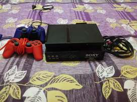 SONY PLAYSTATION 2 WITH HARDISK.