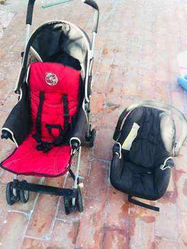 HAUCK Kids Pram/ Stroller/ Push Chair and Car Seat for Sale