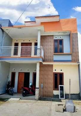 Rumah baru 2 lantai siap huni belakang aneka jaya pedurungan Semarang