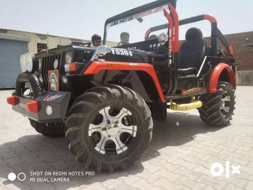Modified open jeep 0
