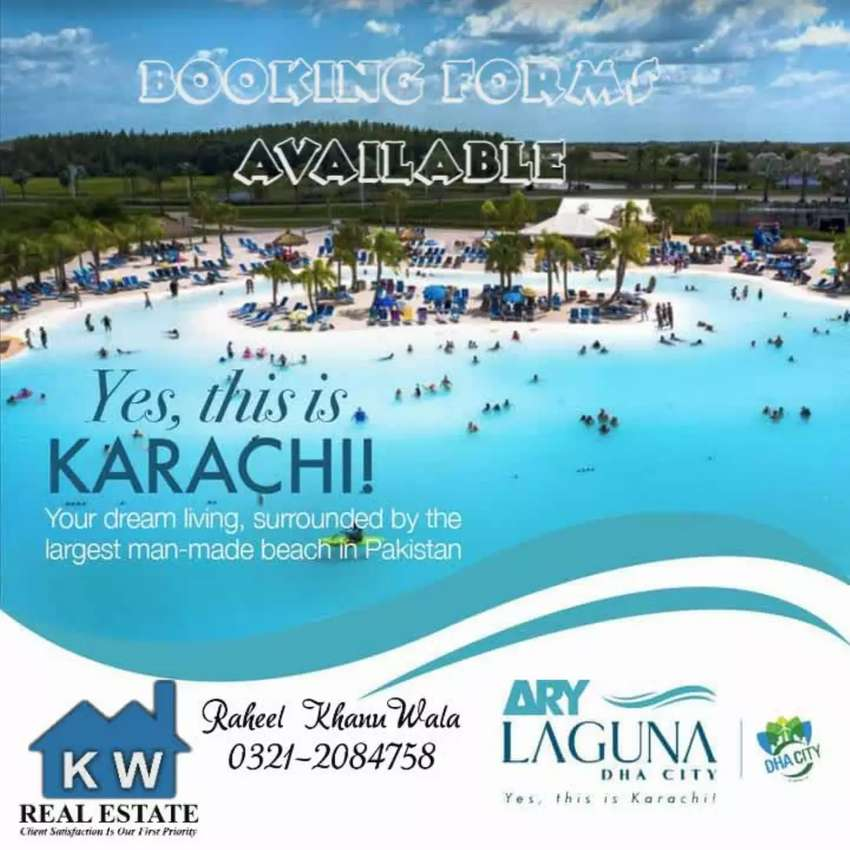 ARY Laguna DHA City Forms Available n Confirm Booking also Available. 0