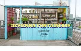Jasa pembuatan container custom design.container usaha makanan.booth,
