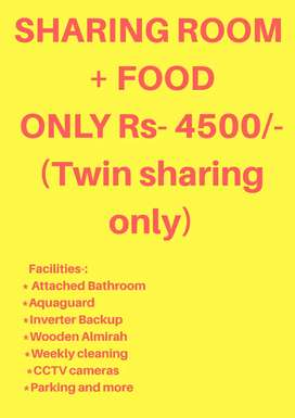 ROOMS AVAILABLE ON SHARING AND INDIVIDUAL BASIS