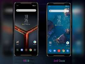 Perfect gaming phone ASUS ROG PHONE 2 with all accessories and bill bo