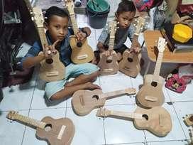 Gitar kentrung polos oke
