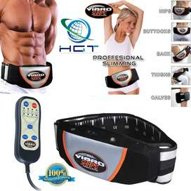 Slimming Heat Vibro Shape Professional Vibration Tone Body Belt Tummy