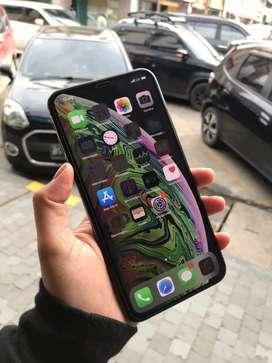 MASIH READY !! SECOND IPHONE XS MAX 256 GB INTER DUAL SIM GREY