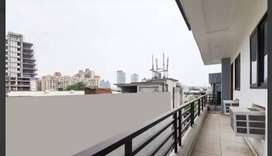 #Balcony Ac Room with meal@10500 % Double Sharing Fully furnished #