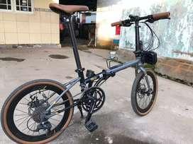 Sepeda Lipat Element Nicks 2020
