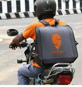 Hiring for swiggy food delivery boys at Lingampally