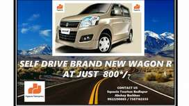 Self-drive all new Wagon r at just ₹ 800 only