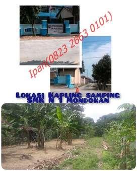 TANAH MURAH SAMPING SMKN1 MONDOKAN